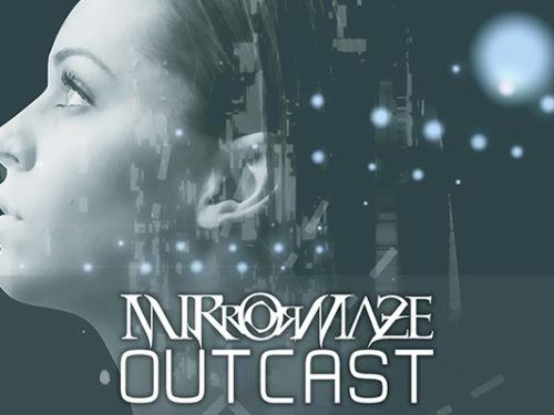 prog metal lyric video mirrormaze outcast