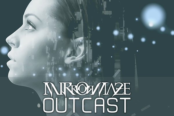 prog metal lyric video mirrormaze outcast